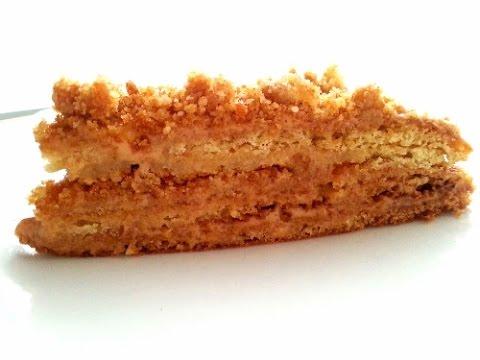 Marlenka kuchen nuss honig kuchen mit dulce de leche for Pinterest kuchen