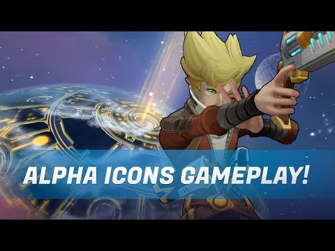 Alpha Icons Gameplay: Xana and Raymer showcase!