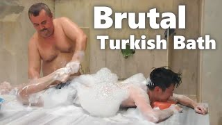 Brutal Turkish Bath and Massage, Hammam // Turkey Travel 2021