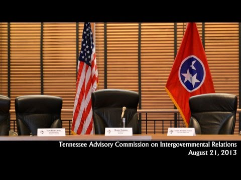 TACIR Commission Meeting August 21, 2013
