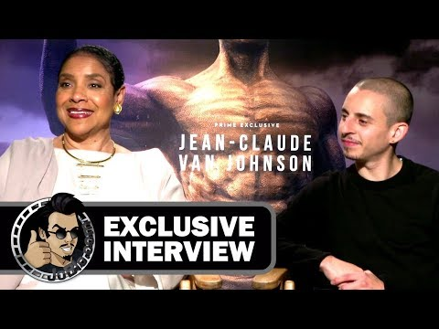 Exclusive: Phylicia Rashad & Moises Arias JEAN-CLAUDE VAN JOHNSON Interview (2017) JoBlo