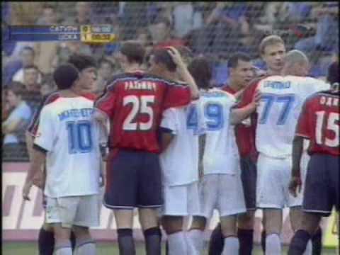 Драка на поле Сатурн - ЦСКА 2004