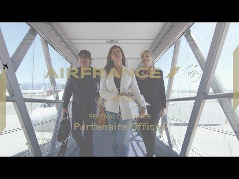 Air France - François Cluzet #StarontheJetway at the Cannes Film Festival
