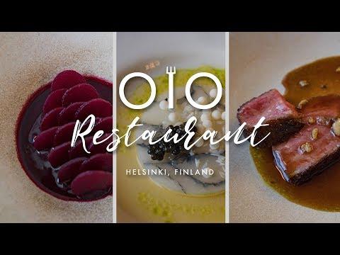 Fine Dining Experience at OLO Restaurant Helsinki Finland