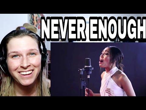 JONA - NEVER ENOUGH ( THE GREATEST SHOWMAN ) | REACTION