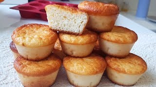 Mini Cheesecakes Recipe - Cheesecake Cupcakes  NO flour and NO butter.