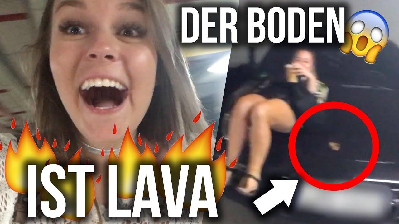 Omg Der Boden Ist Lava Challenge Dagi Bee Youtube