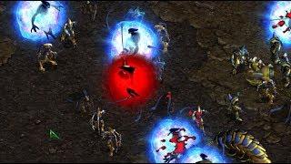 815 (Z) v Violet (P) on God's Garden- StarCraft  - Brood War REMASTERED