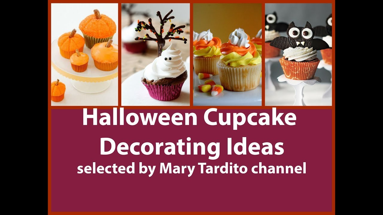Halloween cupcake decorating ideas youtube for Halloween cupcake decorating ideas