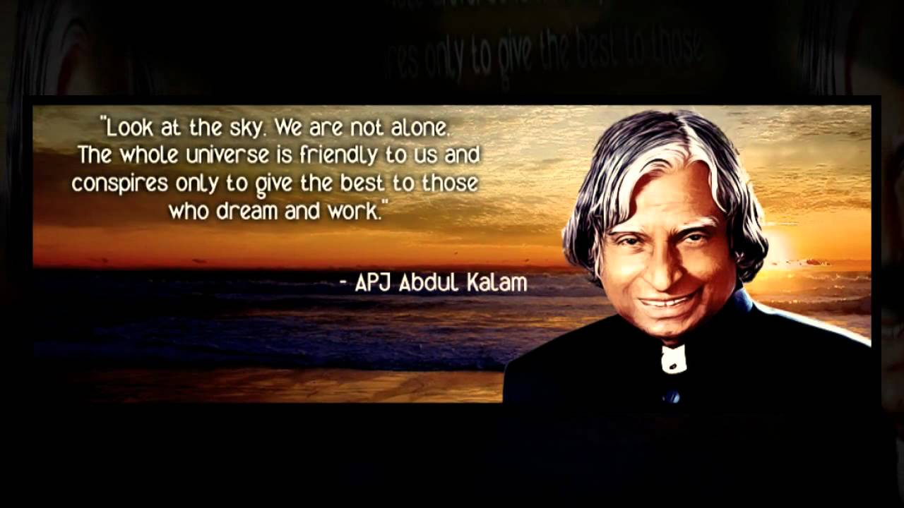 Dr Abdul Kalam Quotes Wallpapers A P J Abdul Kalam Turned 81 On 15th Oct 2012 Wishing