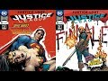 comic book reviews justice league 42 and 43 justice lost concludes