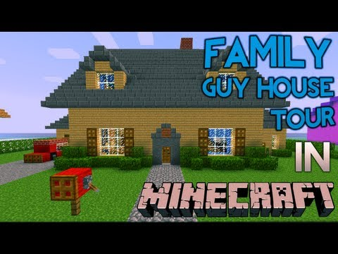 Minecraft: Family Guy House Tour