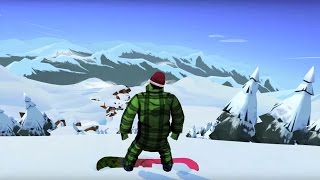 Snowboarding The Fourth Phase | Game Trailer for iOS and Android