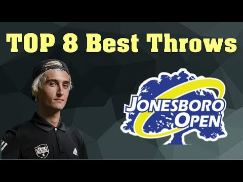 Jonesboro Open 2019 Top 8 Throws Round 1 MPO