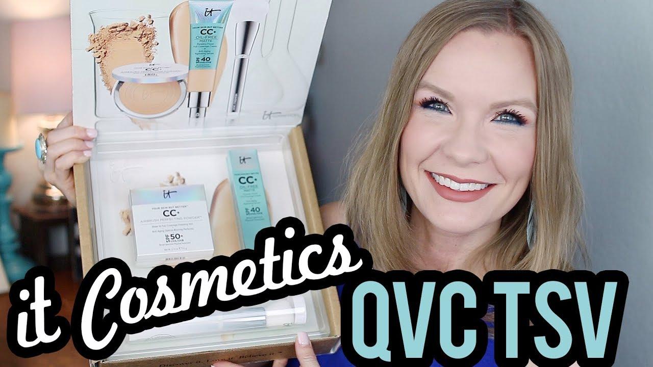 It Cosmetics Qvc Tsv Cc Your Most Beautiful Skin