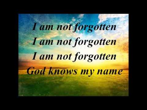 I am not Forgotten instrumental