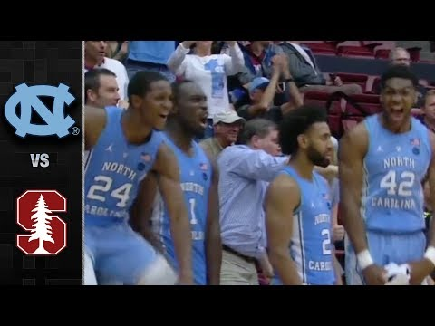North Carolina vs. Stanford Basketball Highlights (2017)