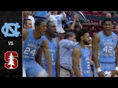 North Carolina vs. Stanford Basketball Highlights (2017)
