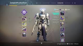 Destiny 2: How I Got 600 Light Level FAST! (Level Up Quick)
