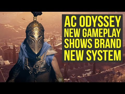 Assassin's Creed Odyssey Gameplay Shows BRAND NEW SYSTEM - Engraving (AC Odyssey gameplay) thumbnail
