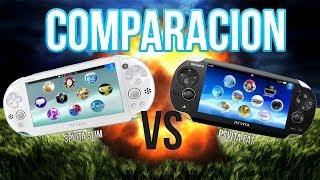 PSvita Slim VS  PSvita FAT!! Análisis y Comparación