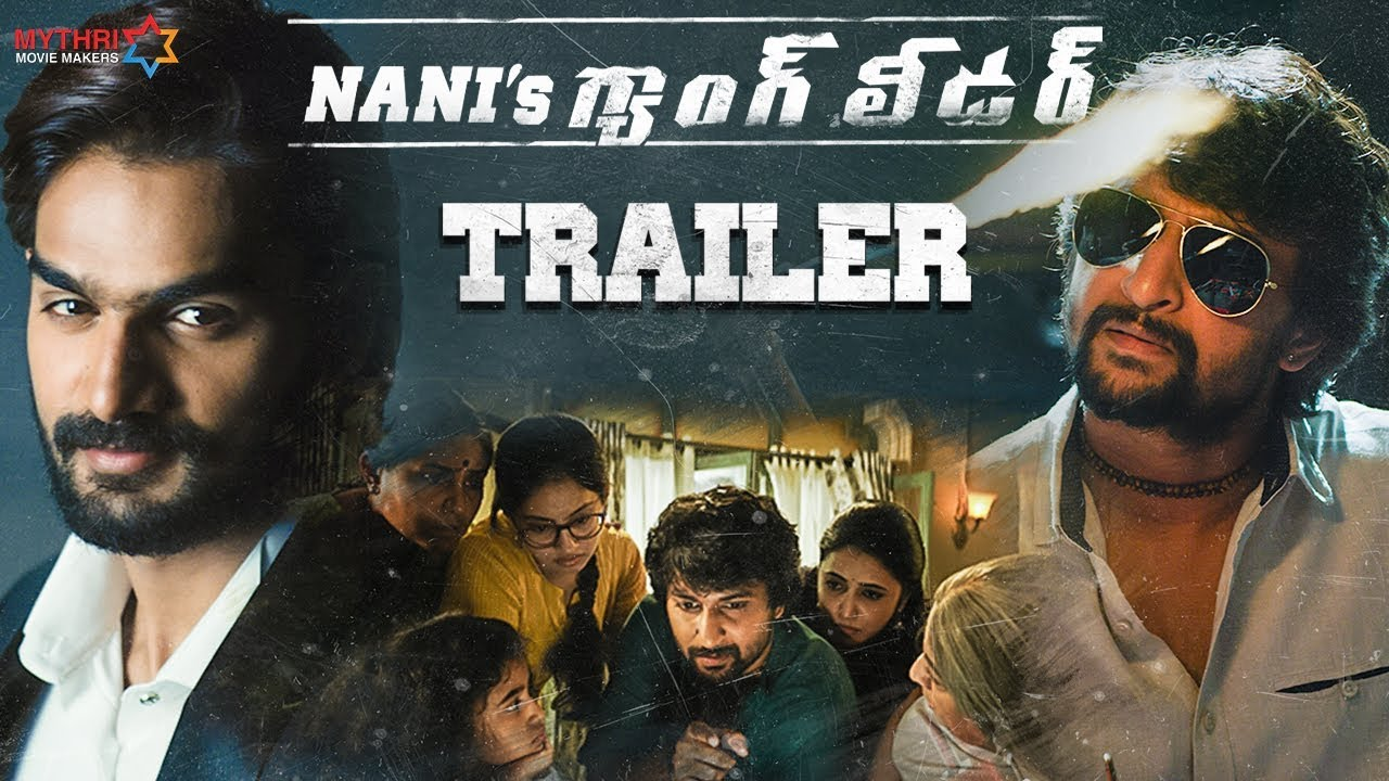 Nani's Gang Leader Trailer | Karthikeya | Vikram Kumar | Anirudh Ravichander | Mythri Movie Mak