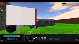 2012 KZ Encore Limo Underride Test-ROBLOX