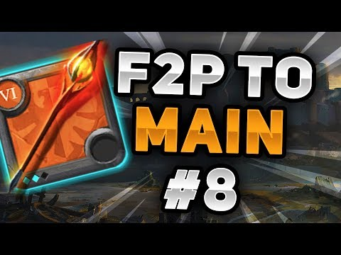 Tier 6 Infernal Staff Build | F2P To Main Account Episode #8 (Albion Online)