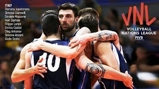 Italy National Volleyball Team | Unbelievable Moments | VNL - 2018