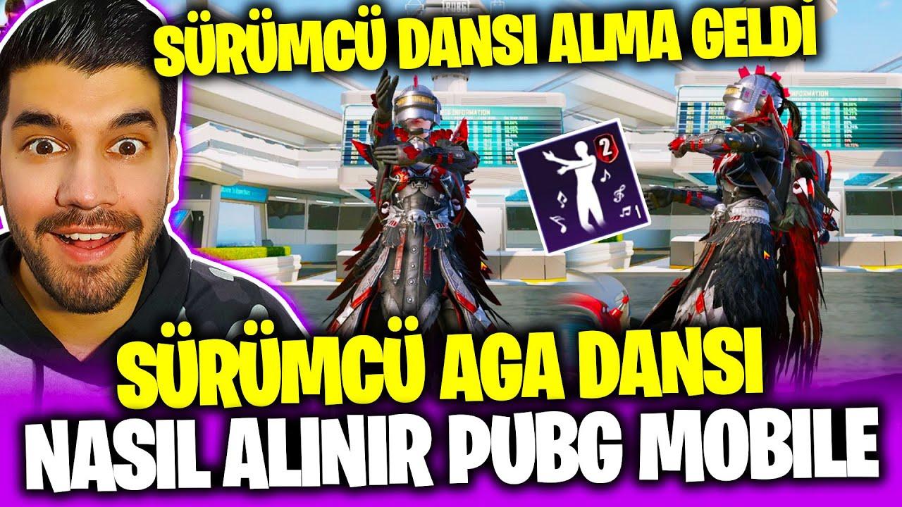 SÜRÜMCÜ AGA DANSI ALMA GELDİ! SÜRÜMCÜ AGA DANSI NASIL ALINIR PUBG Mobile Sezon 20