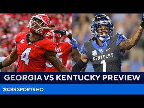 No. 11 Kentucky at No. 1 Georgia: Bulldogs QB Situation, Wildcats Defense, & MORE   CBS Sports HQ