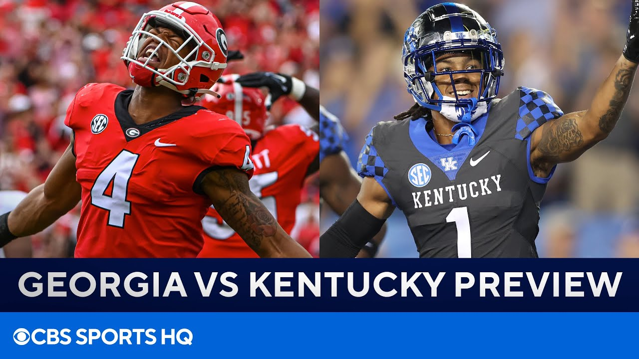 Live updates: No. 1 Georgia football hosts No. 11 Kentucky at ...