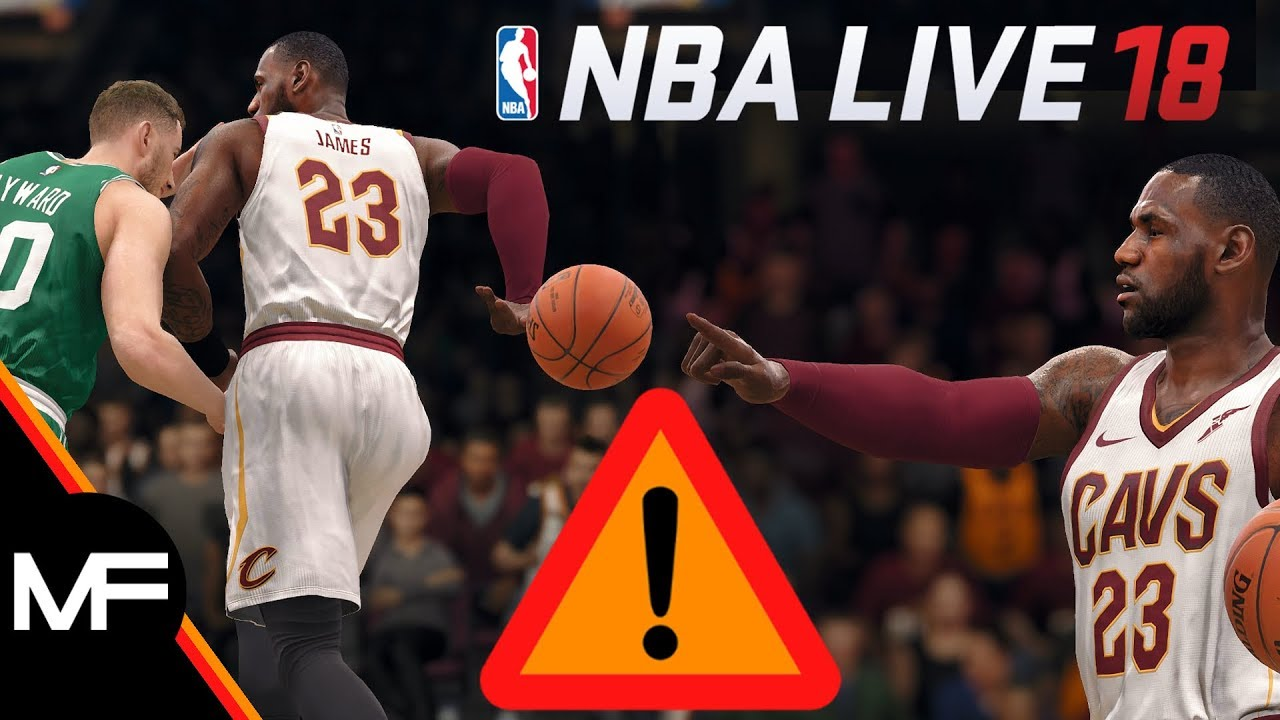 NBA LIVE 18 | LEBRON & THE CAVS LOOK TO PUT ON A SHOW AGAINST THE CELTICS | EA TIP OFF SIMULATION