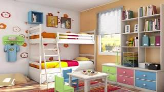 Two Bedrooms For Girls غرف نوم طابقين للبنات