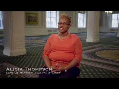 Alicia Thompson Defines Leadership in Public Relations