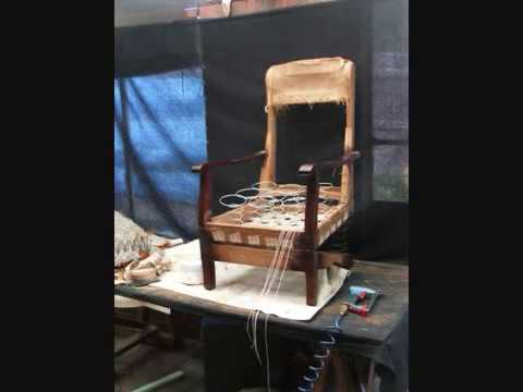 rocking chair start to finish upholstery & rocking chair start to finish upholstery - YouTube
