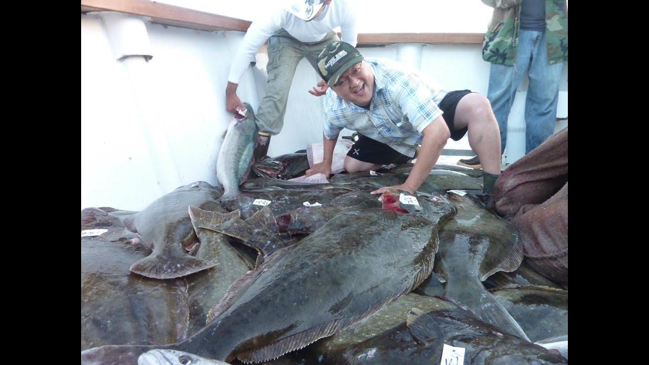 Mirage sportfishing huge california halibut slayage w for California halibut fishing
