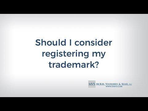 Should I consider registering my trademark?