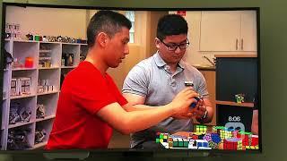 Channel 11 - Totally Wild: Segment in Speedcubing