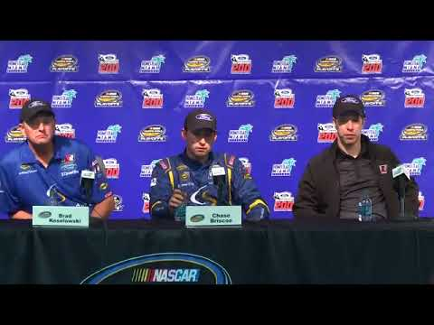 Christopher Bell 2017 NASCAR Camping World Truck Series Champion Press Conference