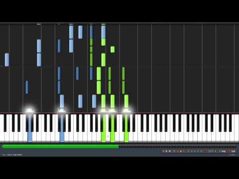 How to play Spooky Scary Skeletons on piano (Synthesia Tutorial) + MIDI & PDF