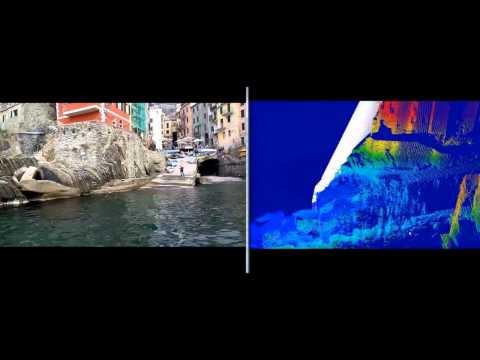 Multibeam Echosounder and Mobile Laser Scanner Survey