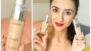 NEW LOREAL TRUE MATCH FOUNDATION! | New Packaging - New Formula????