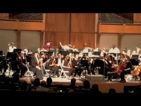 """John Mackey's """"Concerto for Percussion and Orchestra"""" mvt. 2 Steady Rock"""