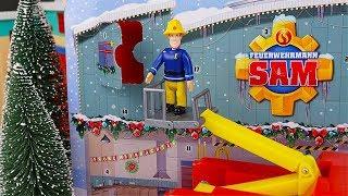 Natale con Sam il Pompiere 🔥 - Il Calendario dell'Avvento Caserma dei pompieri! [Unboxing]