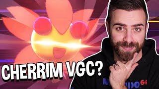 FLOWER GIFT CHERRIM?? | Pokemon Sword and Shield Wifi Battles VGC w/ ShadyPenguinn