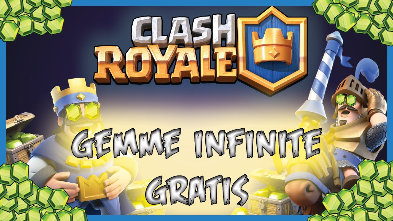 GEMME INFINITE GRATIS CLASH ROYALE / CLASH OF CLANS - TUTORIAL COMPLETO -  100% LEGALE - IOS/ ANDROID