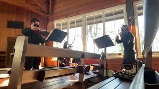 Simply the Best - Schitt's Creek Cover. (String trio - Live)