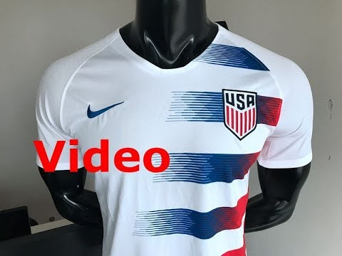 on sale c709f 985c9 2018 world cup USA home fans version white soccer jersey antonio wuyang
