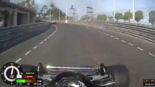 Nick Padmore - 2014 Historic Grand Prix of Monaco (Race)